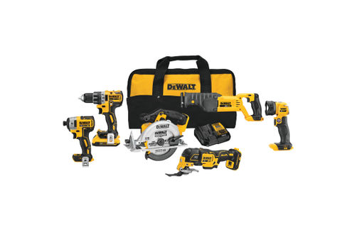 DEWALT 20V Max 6-Tool Combo Kit with Case