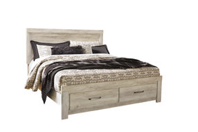 Signature Design by Ashley Bellaby King Bed with 2 Storage Drawers