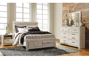 Signature Design by Ashley Bellaby 7-Piece Queen Bedroom Set - Sample Room View