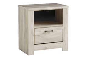 Signature Design by Ashley Bellaby 7-Piece Queen Bedroom Set - Nightstand with 1 drawer
