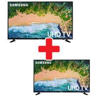 "Samsung 55"" and 50"" 4k UHD LED Smart TV Bundle"