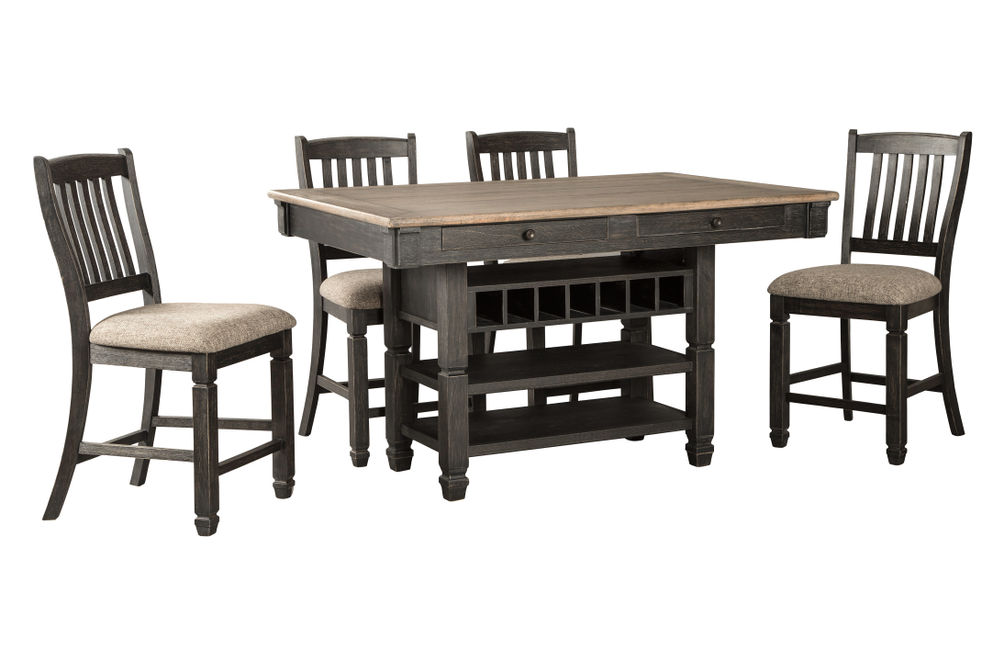 Signature Design by Ashley Tyler Creek 5-Piece Counter Height Dining Set