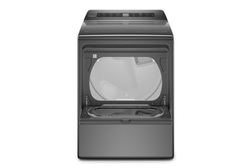 Whirlpool Chrome Shadow 7.4 Cu. Ft. Electric Dryer - Interior View