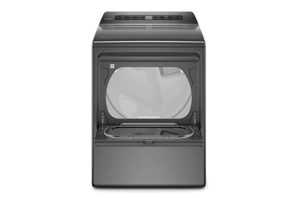 Whirlpool Chrome Shadow 7.4 Cu. Ft. Gas Dryer - Interior View