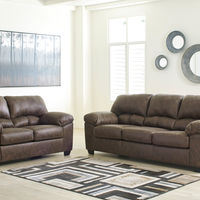 Signature Design by Ashley Barberlon Sofa and Loveseat - Room View