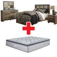 "Benchcraft ""Chadbrook""  6-Piece King Bedroom Set + Mattress"