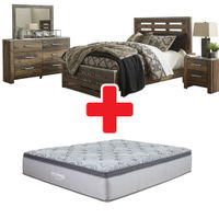 "Benchcraft ""Chadbrook""  6-Piece Queen Bedroom Set + Mattress"