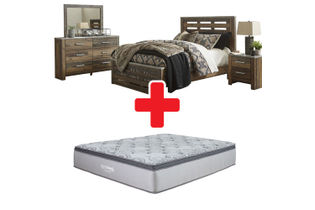 "Benchcraft ""Chadbrook""  6-Piece Queen Bedroom Set + Mattress"