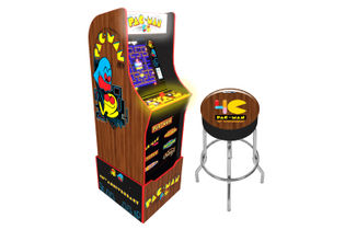 PAC-MAN 40th Anniversary Arcade Game with Stool