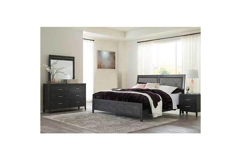 Benchcraft Delmar 6-Piece Queen Bedroom Set