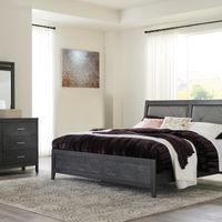 Benchcraft Delmar 6-Piece King Bedroom Set - Room View