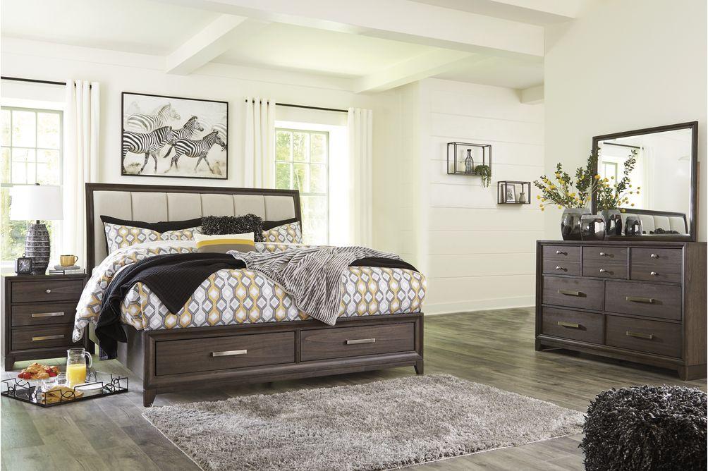 Signature Design Brueban 6-Piece Queen Bedroom Set