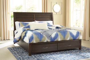 Signature Design by Ashley Darbry Queen Storage Bed- Room View