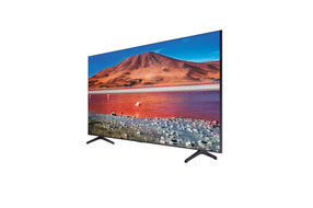 Samsung 65 Inch 4K UHD LED Smart TV UN65TU7000FXZA- Side Angle View