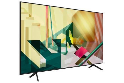 Samsung 65 Inch 4K QLED Smart TV QN65Q70TAFXZA- Side Angle View