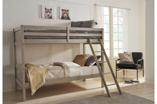 Signature Design by Ashley Lettner Twin over Twin Bunk Bed- Room View
