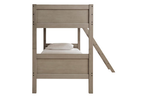 Signature Design by Ashley Lettner Twin over Twin Bunk Bed- Side View
