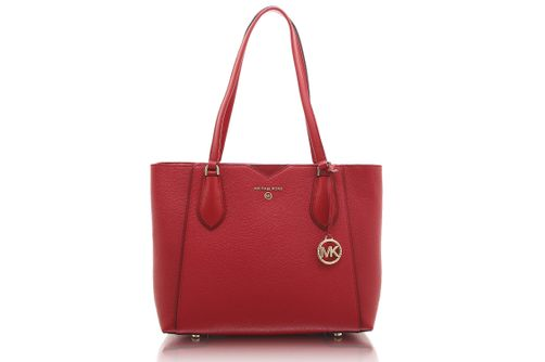 Michael Kors Mae Medium Tote - Berry