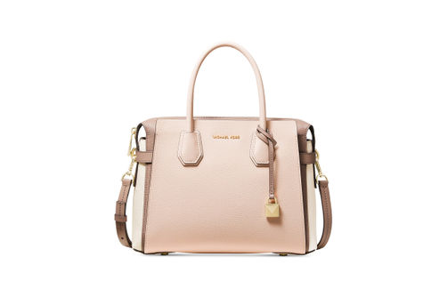 Michael Kors Mercer Medium Belted Satchel - Tri-Color