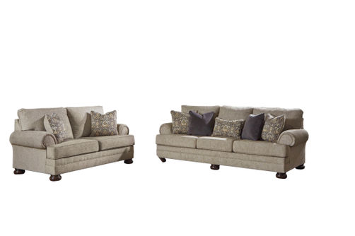 Signature Design by Ashley Kananwood-Oatmeal Sofa and Loveseat