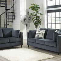 Signature Design by Ashley Kennewick-Shadow Sofa and Loveseat - Room View