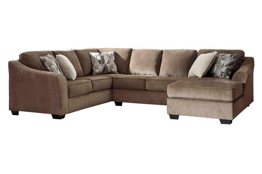 Benchcraft Graftin-Teak 3-Piece Sectional