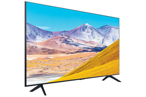 Samsung 85 inch 4K UHD LED Smart TV- Side Angle View
