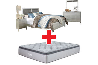 Signature Design by Ashley Olivet Queen Bedroom Set Bundle
