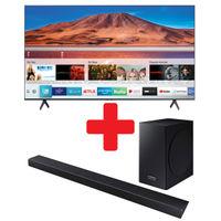 Samsung 65 Inch Smart TV + Harmon Kardon Soundbar Bundle