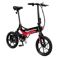 Swagtron EB7 Elite Commuter Folding Electric Bike - Black