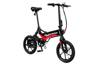 Swagtron EB7 Elite Commuter Folding Electric Bike - Black
