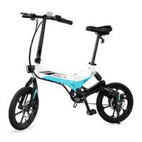 Swagtron EB7 Elite Commuter Folding Electric Bike - White
