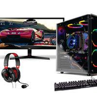SkyTech Legacy 29 inch NVIDIA GTX 1660 Gaming Desktop Bundle