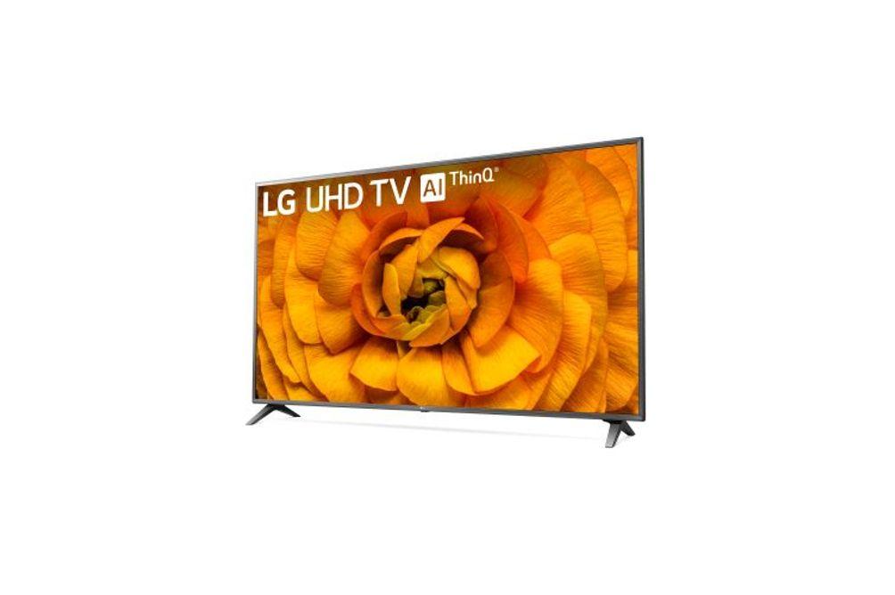 LG 86 inch 4K UHD Smart TV 86UN8570PUC- Side Angle View