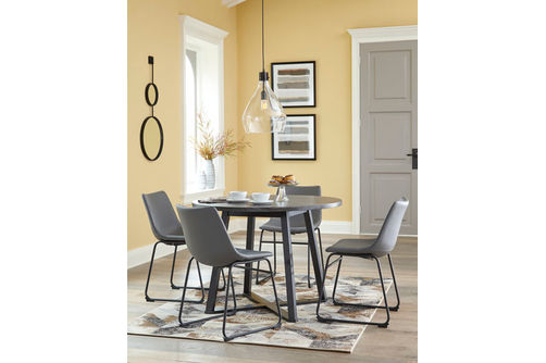 Signature Design by Ashley Centair 5-Piece Dining Set- Room View
