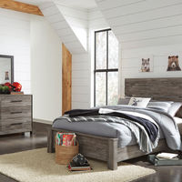 Signature Design by Ashley Cazenfeld 6-Piece Queen Bedroom Set - Room View