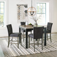 Benchcraft Dontally 5-Piece Counter Height Dining Room Set - Room View