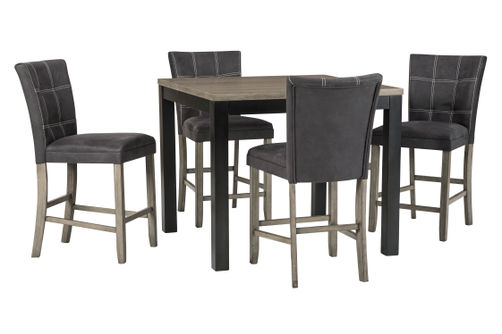 Benchcraft Dontally 5-Piece Counter Height Dining Room Set