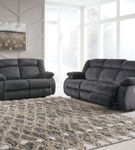 Signature Design by Ashley Burkner Power Reclining Sofa and Loveseat- Alternate Room View