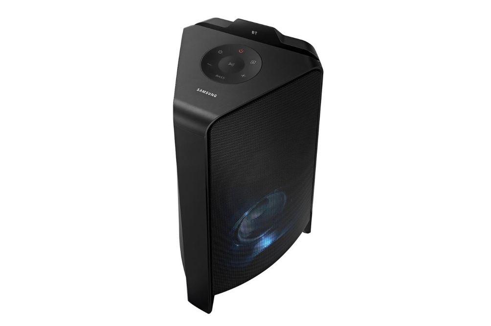 Samsung MX-T50ZA 500W High Power Audio System- Side Angle View