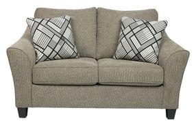 Benchcraft Barnesley-Platinum Sofa and Loveseat - Loveseat