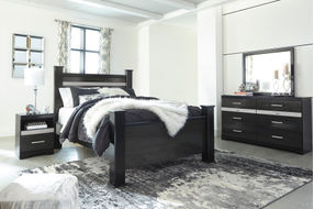 Signature Design by Ashley Starberry 6-Piece Queen Bedroom Set - Room View