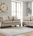 Signature Design by Ashley Alessio-Beige Sofa and Loveseat- Alternate Image