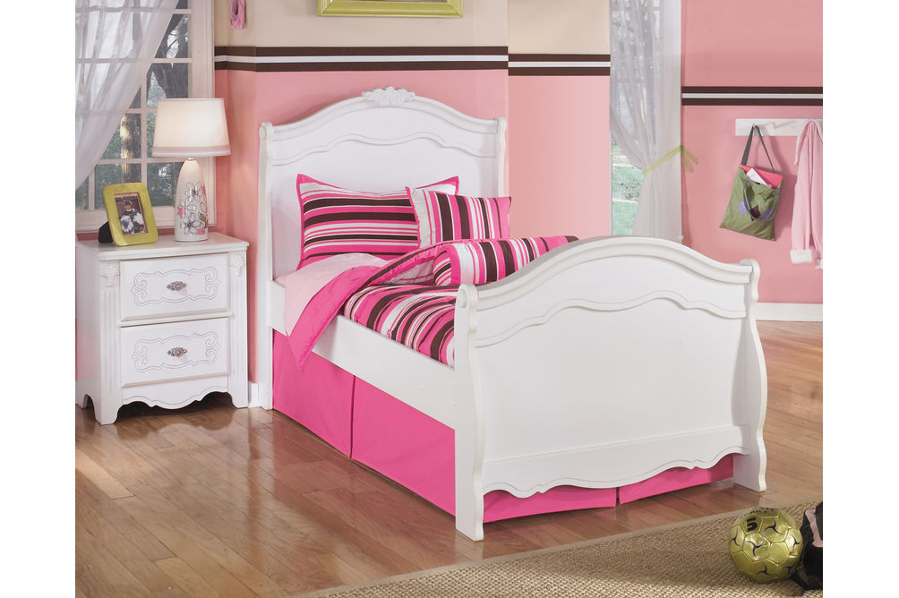 Signature Design by Ashley Exquisite 3-Piece Twin Bedroom Set - Room View
