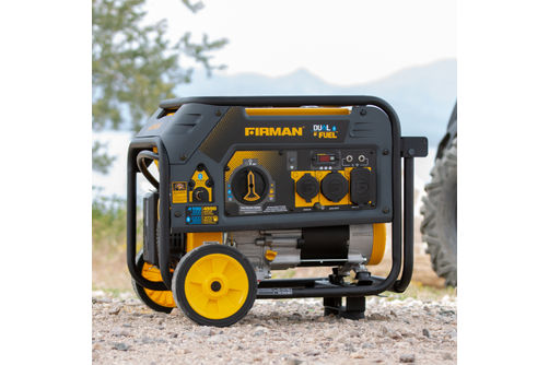 Firman 4550 Watt Dual Fuel Generator- Alternate Image