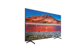 Samsung 65 inch 4K UHD LED Smart TV UN65TU7000FXZA- Side Angle View