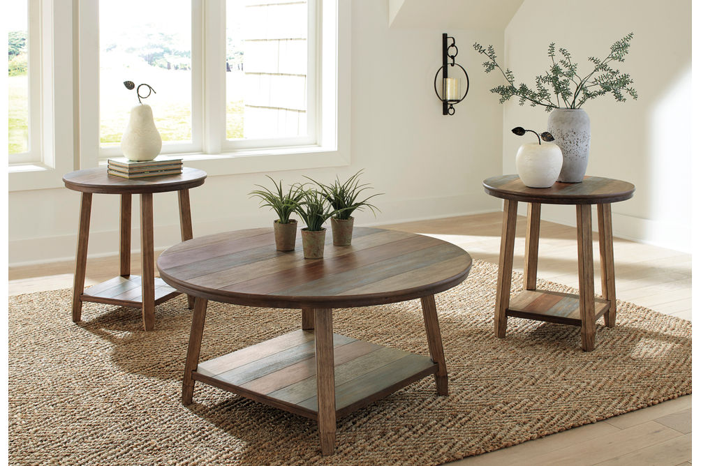 Signature Design by Ashley Raebecki Coffee Table Set - Room View