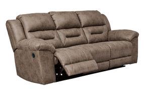 Signature Design by Ashley Stoneland-Fossil Reclining Sofa