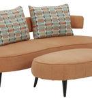 Signature Design by Ashley Hollyann-Rust Sofa and Ottoman Set