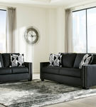 Signature Design by Ashley Gleston Onyx Sofa and Loveseat- Alternate View